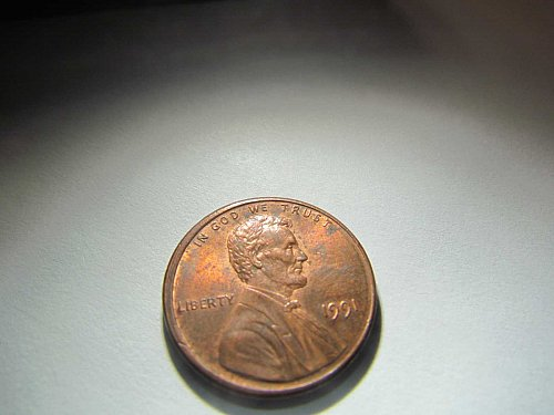 1991 MEMORIAL CENT ONE CENT PENNY AUCT#8