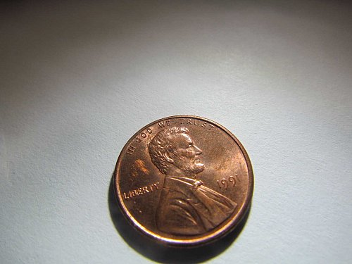 1991 MEMORIAL CENT ONE CENT PENNY AUCT#9