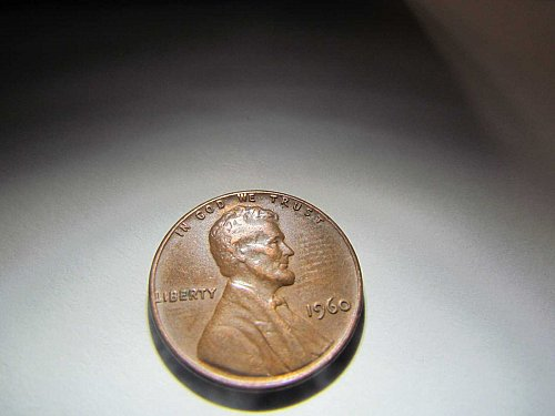 1960 MEMORIAL CENT ONE CENT PENNY AUCT#13