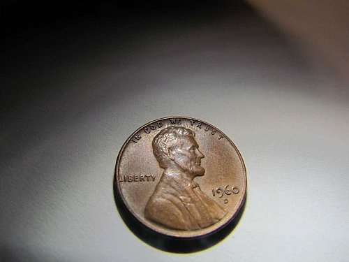 1960 D MEMORIAL CENT ONE CENT PENNY AUCT#18