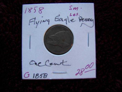 1858 Flying Eagle Penny