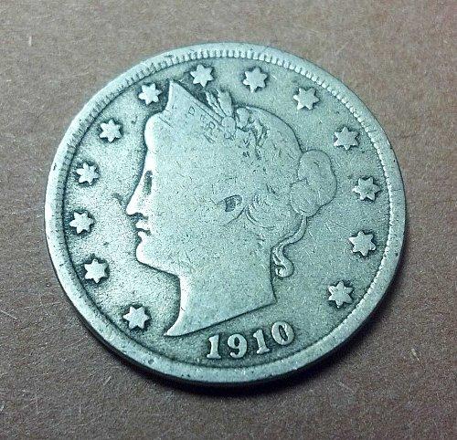 "1910 Liberty ""V"" Nickel"