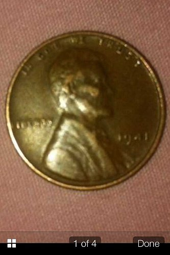 1941 Lincoln Wheat Cent