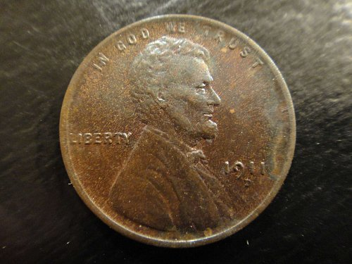 1911-D Lincoln Cent MS-63 (Choice BU)