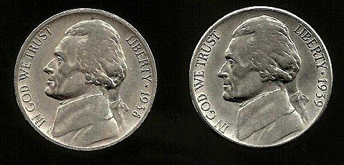 Jefferson Keys  //1938D  /1939S!!!!!