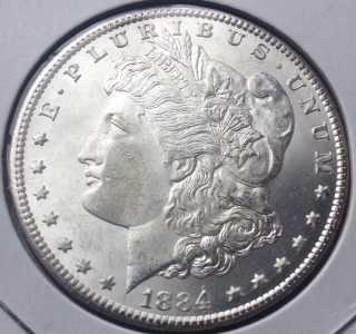 1884 CC Morgan Dollar-BU-MS++++