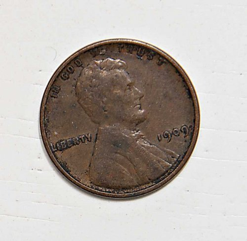 1909 P VDB WHEAT PENNY