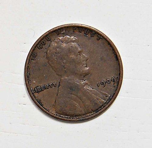 1909 P VDB WHEAT PENNY