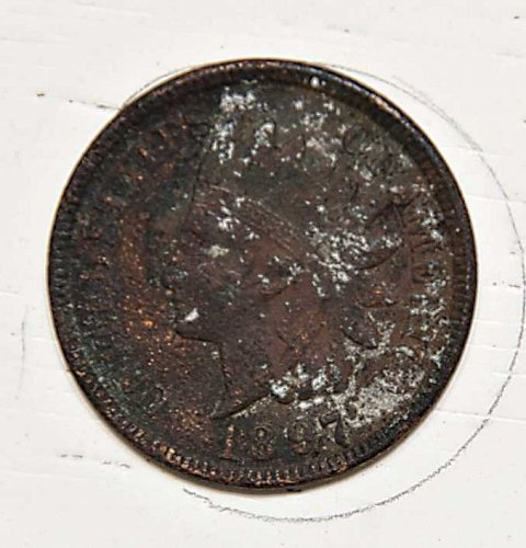 1897 P INDIAN HEAD CENT