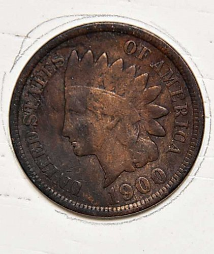 1900 P INDIAN HEAD CENT