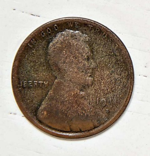 1911 S LINCOLN WHEAT CENT