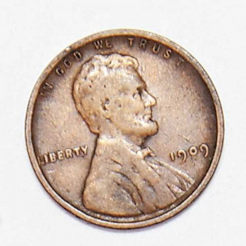 1909 P LINCOLN WHEAT PENNY