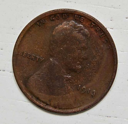1913 P LINCOLN WHEAT CENT