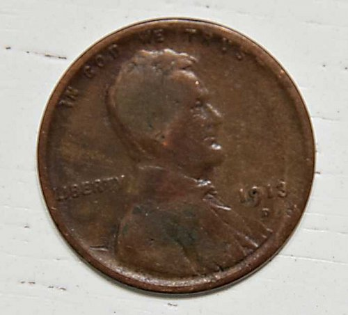 1913 D WHEAT CENT