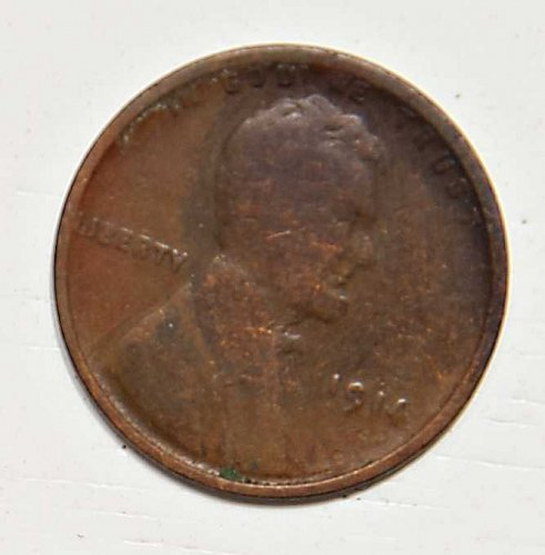1914 P LINCOLN WHEAT CENT