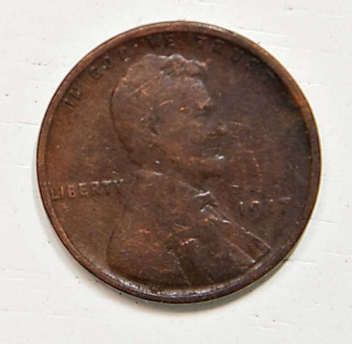 1917 P Lincoln Wheat Cent