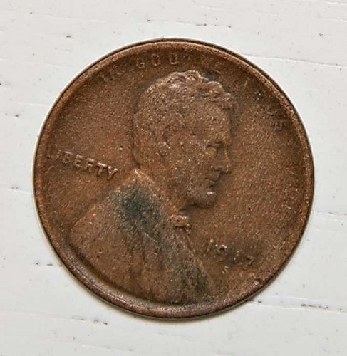 1917 S Lincoln Wheat Cent