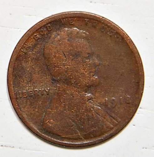 1918 P Lincoln Wheat Cent
