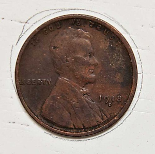 1918 D Lincoln Wheat Cent