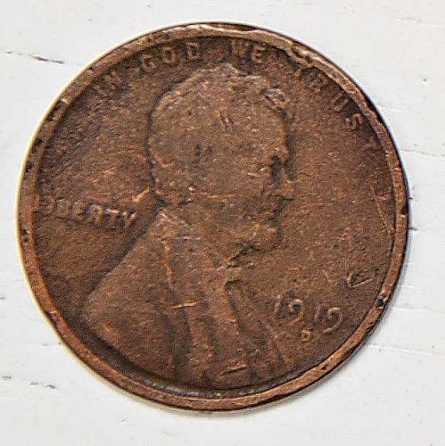 1919 D Lincoln Wheat Cent