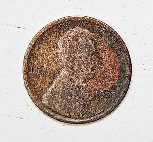 1923 S Lincoln Wheat Cent
