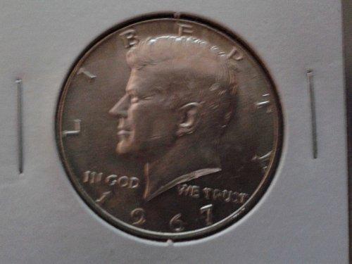 1967 D Kennedy Half Dollar.