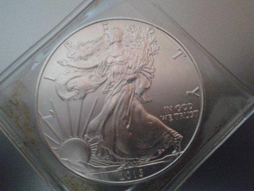 2013 Silver Eagle. BU or AU.