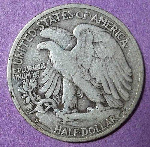 1935s Walking Liberty Half Dollar