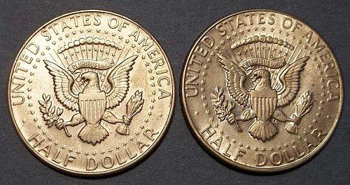 (2) 1968 Kennedy Half Dollars