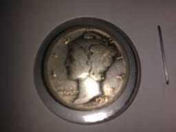 1918 P Mercury Dime