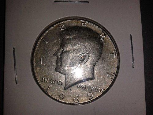 1969 S Kennedy Half Dollar