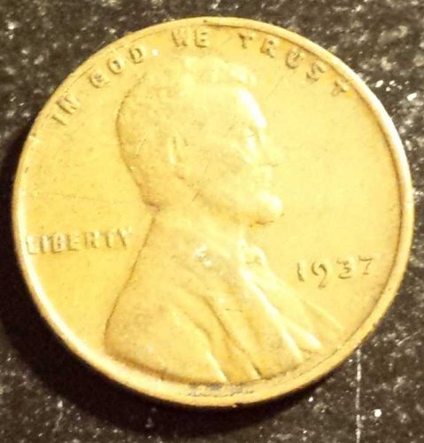 1937 Lincoln Wheat Cent (5171)