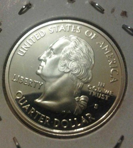 2002 Silver proof state quarter mississippi * price cut *