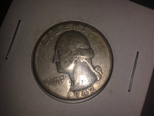 1942 S Washington Quarter