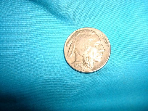 1929 s Buffalo Nickel