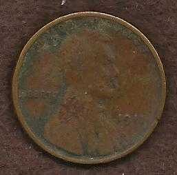 US Lincoln Type Wheat Cent Penny 1911 Coin 1