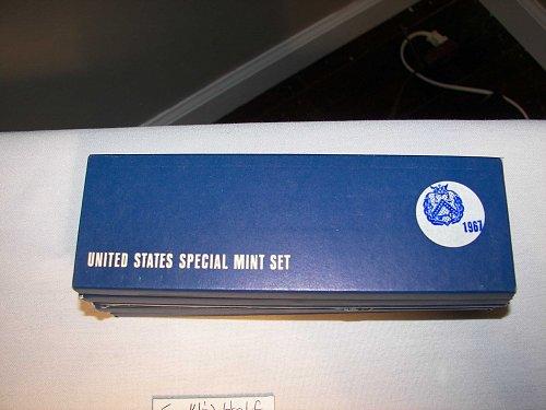1967 1C-50C Special Mint Set