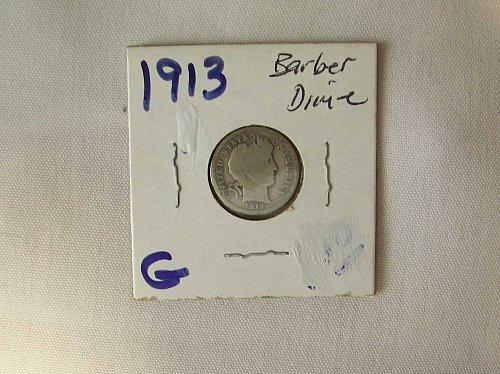1913 Barber Dime