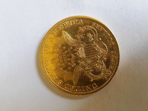 Aution for coronet head gold 20 double eagle (1898)