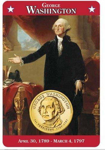 Willabee & Ward Presidental Dollars Collection Folder