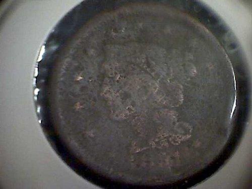 1851-P Braided Hair Liberty Head Large Cent