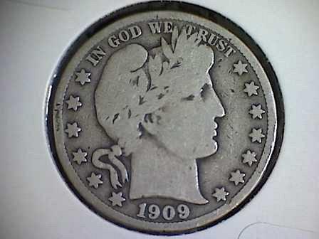 1909-S BarberHalf Dollar