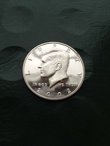 2002-S   Deep Cameo  Proof   Kennedy Half Dollar   BV $7+