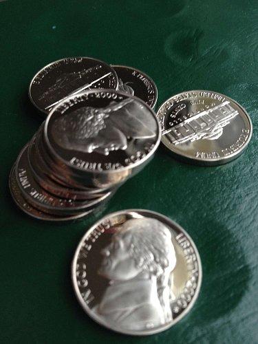 2000-S  Deep Cameo Gem  Proof  Jefferson Nickel   BV $2.50+