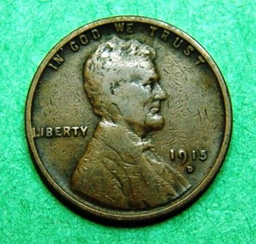 1915 D Lincoln Wheat Cent 849