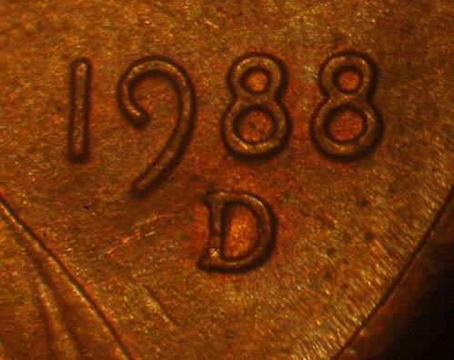 1988-D/D 1c WRPM-006/RPM-005 ----AU Condition