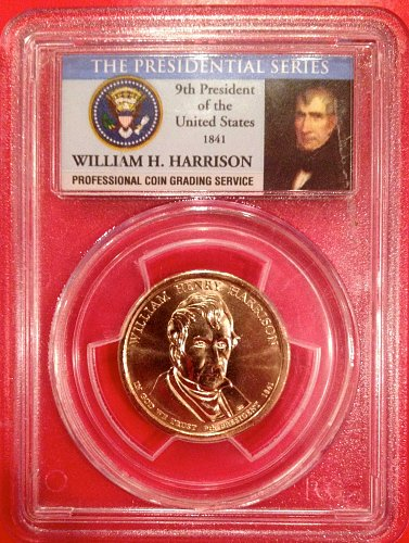 2009 P William H. Harrison MS66