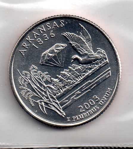 2003 D BU Arkansas Washington Quarter #2