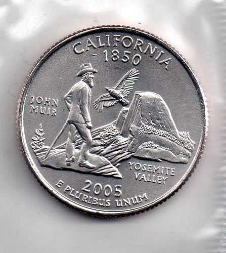 2005 D BU California Washington Quarter #3