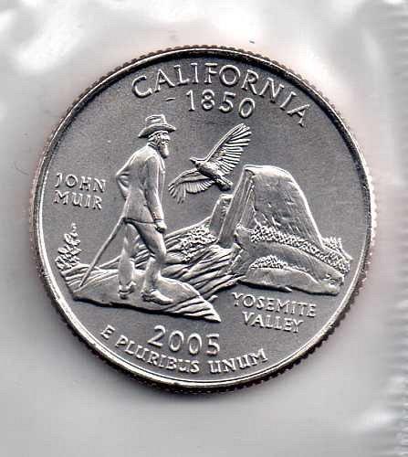 2005 D BU California Washington Quarter #3